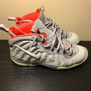 Nike Air foamposite pro pure platinum kids